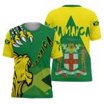 Ligerking™ Jamaica - Lion Roar Jamaica T-Shirt HD02649