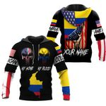 Ligerking™ Customize Colombia All Over Print Hoodies HD02636