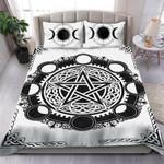 Black & White Wicca Bedding Set HD02741