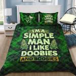 Ligerking™ 420 Simple Man Quilt bedding set HD02808