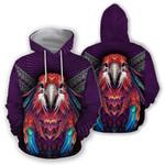 Ligerking™ Parrot  Hoodie  3D all over print HD02826