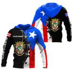 Ligerking™ Puerto Rico One Star Hoodie 02770