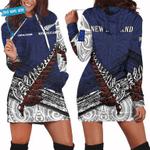 Ligerking™ New Zealand Aotearoa personalized name hoodie HADO0002S