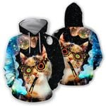 Ligerking™  Chillin' Cat  Hoodie  3D all over print HD02769