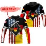 Ligerking™ Customize Germany All Over Print Hoodies HD02811