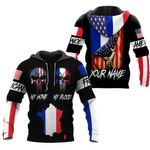 Ligerking™ Customize France All Over Print Hoodies HD02638