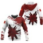 Ligerking™ Switzerland Red Edelweiss Pullover Hoodie DQH0053