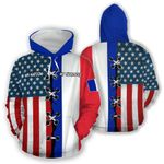 Ligerking™ Customize France All Over Print Hoodies HD02795