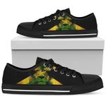 Ligerking™ Jamaica - Rasta Lion Lowtop Canvas Shoes HD02524