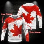 Canada Red Hoodie 02466