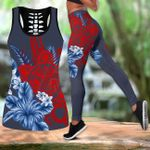Ligerking™ Puerto Rico Tank top, Leggings 02867