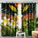 Ligerking™ Hawaii window curtains  HD02520