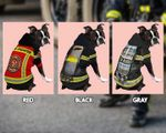 Ligerking™ Unique Firefighter Dog Hoodie - For both Large and Small Dogs