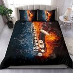 Ligerking™ Ice Fire Saxophone Bedding Set HD04009