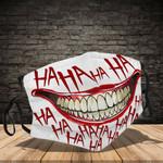 Ligerking™ Haha Joker Cloth Face Coverings - Haloween Crazy Smile HD03871