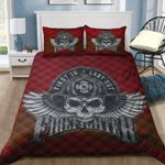 Ligerking™ FireFighter Quilt Bedding Set HD04098