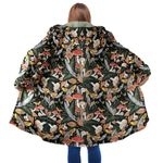 Animal & Forest Mushroom Hooded Coat 3914