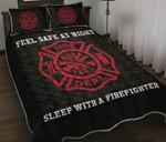 Ligerking™ FireFighter Quilt Bedding Set HD03839