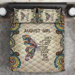Ligerking™ August Girl Quilt Bedding Set HD04311