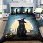 Ligerking™ Halloween Black Cat Bedding Set HD04433