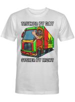 Ligerking™ trucker by Day Stoner by Night Shirt HD03737