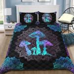 Ligerking™ Magic Mushroom Quilt bedding set HD03616