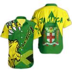 Ligerking™ Jamaica Lion Roar Shirt Short Sleeve HD03365