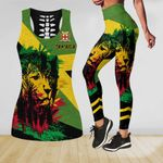 Ligerking™ Jamaica Lion Tank Top, Leggings HD03540