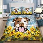 Ligerking™ Sunflower Dog Bedding Set 04293
