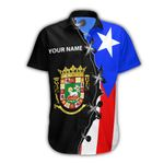 Ligerking™ Puerto Rico Shirt Short Sleeve 02164