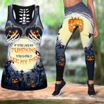 Ligerking™ If You Like My Pumpkins Tank Top, Leggings HD04622