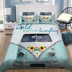 Ligerking™ Be Kind - Hippie Bedding Set 04080