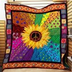 Ligerking™ SunFlower - Hippie Quilt 3D AOP 03854