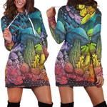 Forest Mushroom Hoodie Dress 3906