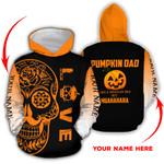 Ligerking™ Halloween Hoodie Pumpkin Dad 3D all over print HD04319