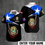 Ligerking™ Puerto Rico Shirt Short Sleeve 03414