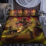 Anubis Egyptian God Bedding Set HD03193