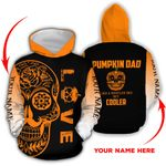 Ligerking™ Halloween Hoodie Pumpkin Dad 3D all over print HD04303