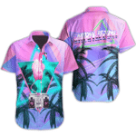 Ligerking™ Flamingo Polo Shirt All Over Print HD03473