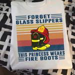 FireFighter Princess Wears Fire Boots