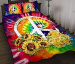 Ligerking™ Sun Flower Hippie Bedding Set 04202