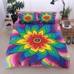 Ligerking™ Colorful Flower - Hippie Bedding Set 04087