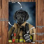 Ligerking™ FireFighter Puzzles Personalized HD04123