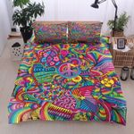 Ligerking™ Colorful Hippie Bedding Set 04088