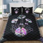 Ligerking™ Magic Mushroom Quilt bedding set HD01191
