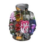 Beautiful Forest Mushroom Hoodie 3912