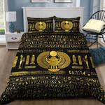 Golden Egyptian Scarab Bedding Set HD03188