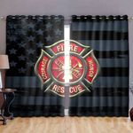 Ligerking™ FireFighter Window Curtains  HD04100