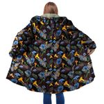 Fern & Mushroom Hooded Coat 3919