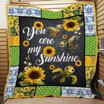 Ligerking™ SunFlower - Hippie Quilt 3D AOP 03862
